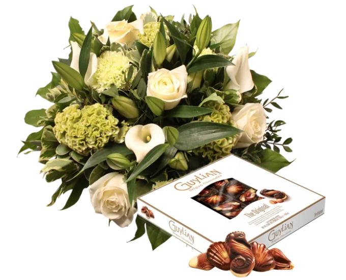 Fleurs Interflora Fleurop et chocolats